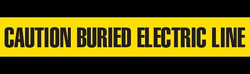 CAUTION BURIED ELECTRIC LINE