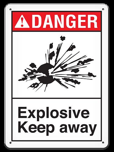 DANGER - Explosive Keep Away