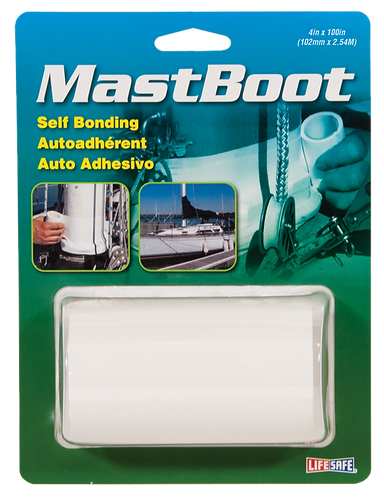Mast Boot Self Bonding Tape (White)