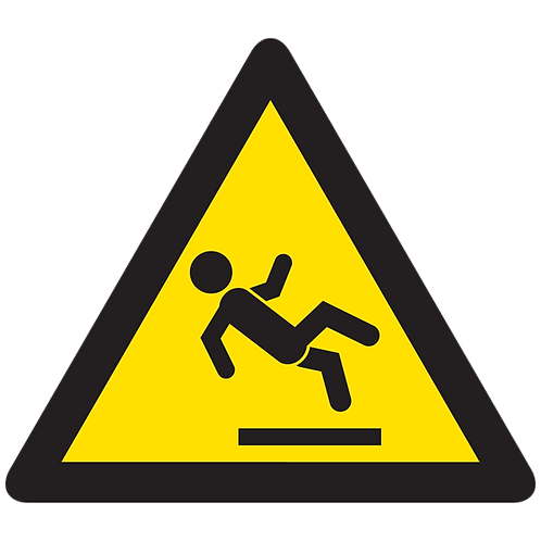 WARNING - Slippery Surface