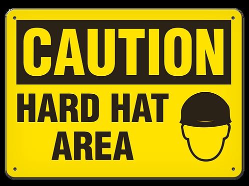 Caution - Hard Hat Area