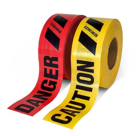 Reinforced Grade Barricade Tape