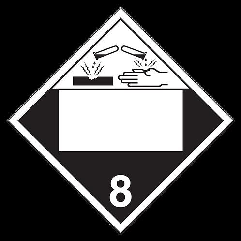 Class 8 - Corrosive