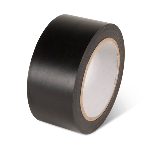 Black - Aisle Marking Conformable Floor Tape