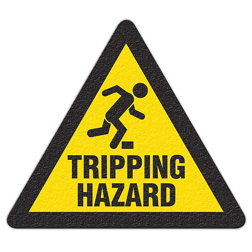 Tripping Hazard Floor Sign