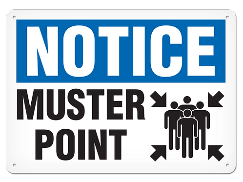 NOTICE - Muster Point