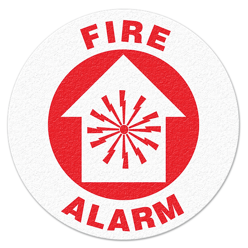 Fire Alarm Floor Sign