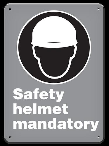 MANDATORY - Safety Helmet Mandatory