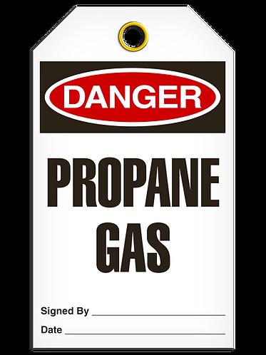 DANGER  -  Propane Gas