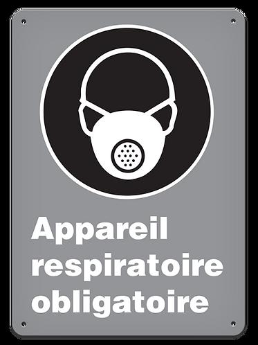 OBLIGATOIRE - Appareil respiratoire obligatoire