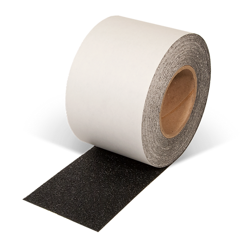 "4"" x 60"" Rubberized Resilient Anti-Slip Tape (Black)"