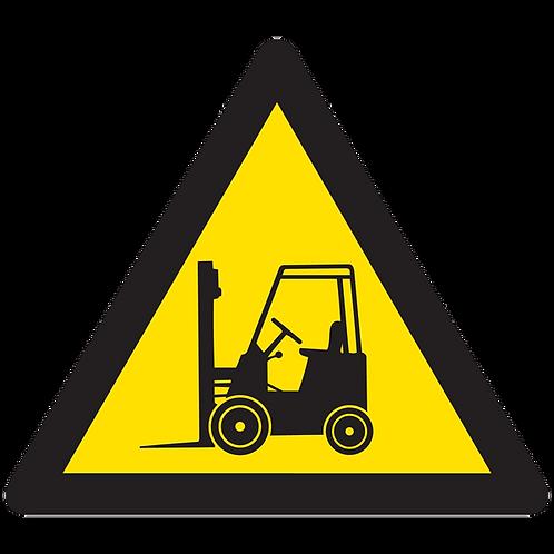WARNING - Forklift Hazard