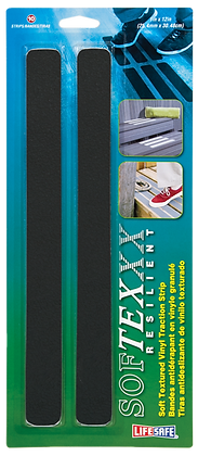 "SoftTex Textured Anti-Slip Strip 1"" x 12"""