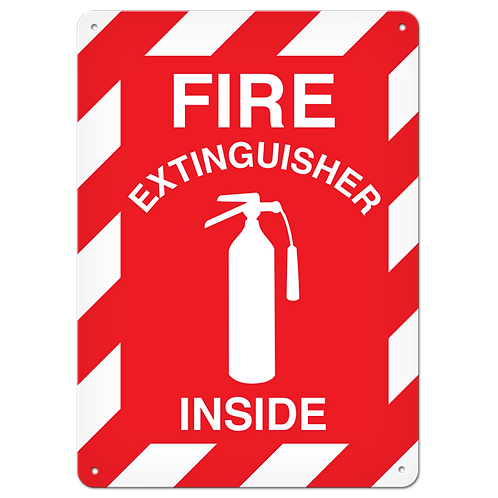 FIRE SIGNS - Fire Extinguisher Inside