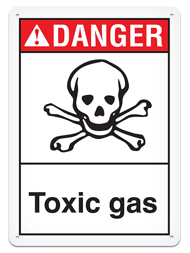 DANGER - Toxic Gas