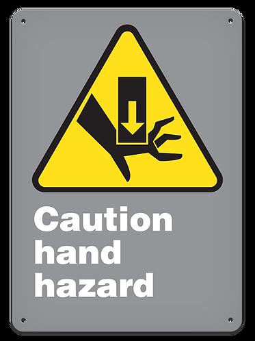 CAUTION - Caution Hand Hazard