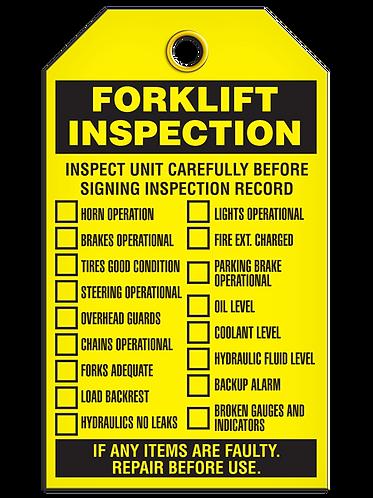 Inspection  -  Forklift