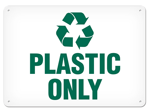 RECYCLE - Plastic Only