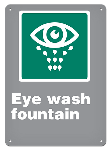EMERGENCY - Eye Wash Fountain