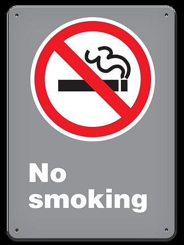 PROHIBITION - No Smoking