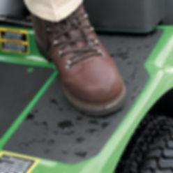Boot standing on Anti-Slip Tape