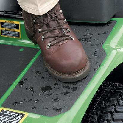 Boot standing on Anti-Slip Tape