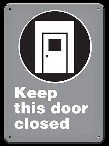 MANDATORY - Keep This Door Closed
