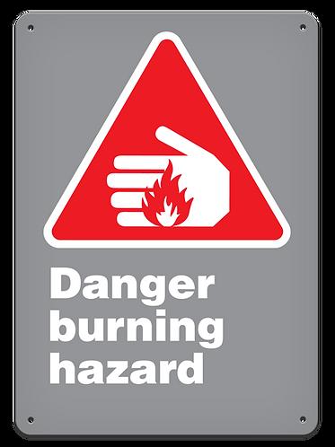 DANGER - Danger Burning Hazard