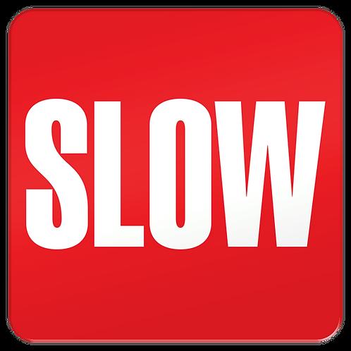 Slow Floor Sign