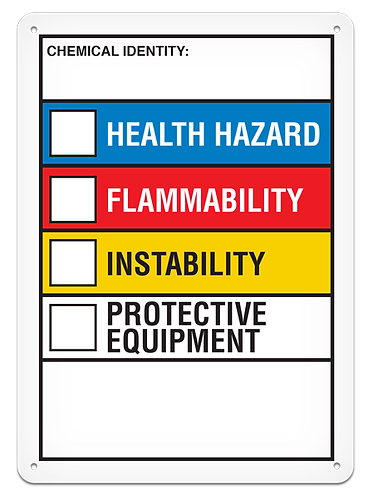 NFPA - Chemical Identity