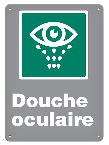 Urgence - Douche oculaire