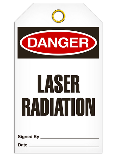 DANGER  -  Laser Radiation