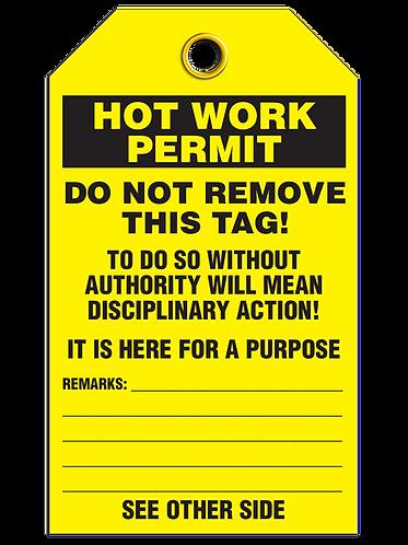 Inspection  -  Hot Work Permit