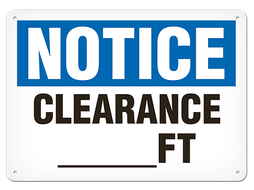 NOTICE - Clearance __ FT