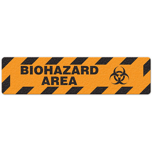 Biohazard Area Floor Sign