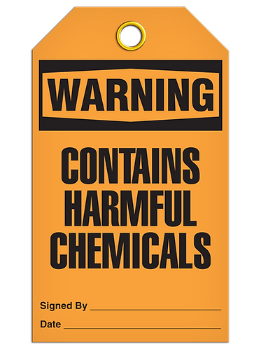WARNING - Contains Harmful Chemicals