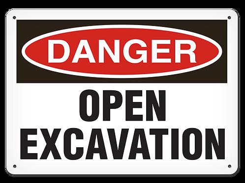 DANGER - Open Excavation