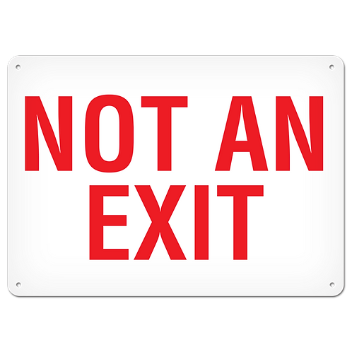 FIRE SIGNS - Not An Exit
