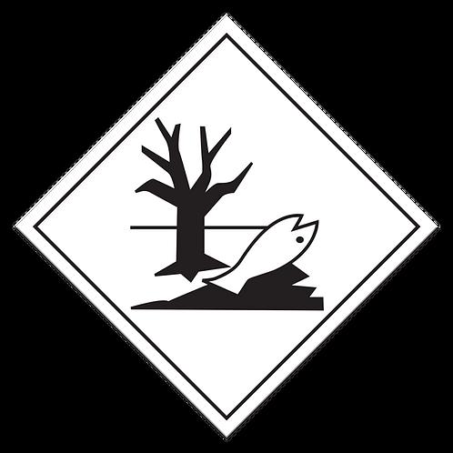 Marine Pollutant Truck Placard