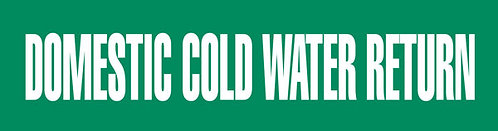 PM1091 - DOMESTIC COLD WATER RETURN