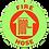 Thumbnail: Fire Hose Glow Floor Sign