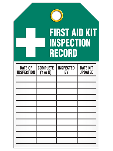 Inspection  -  First Aid
