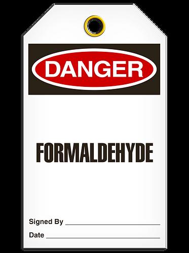 DANGER  -  Formaldehyde