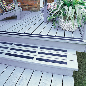 Anti-Slip Tape Deck Steps