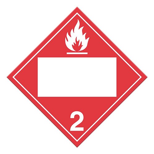 Class 2.1 - Flammable Gasses
