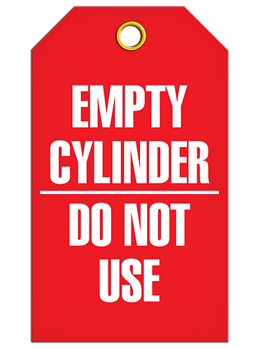 Inspection  -  Empty Cylinder