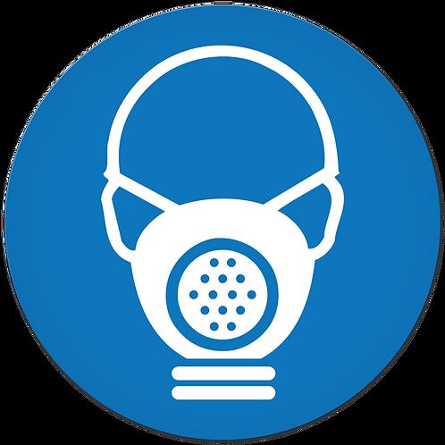 MANDATORY - Cartridge Respirator Required