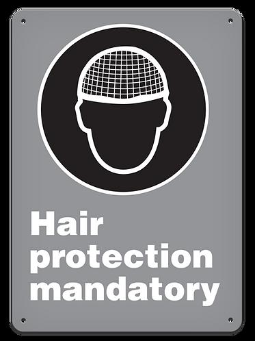 MANDATORY - Hair Protection Mandatory