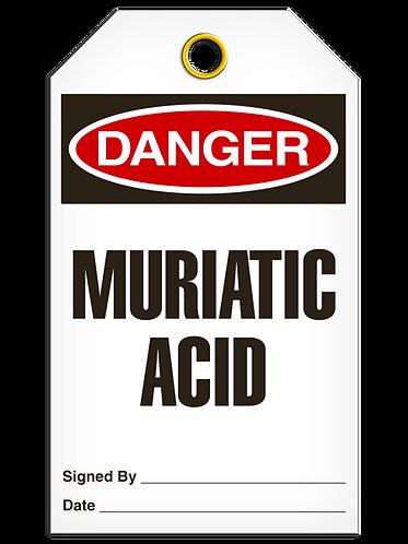 DANGER  -  Muriatic Acid