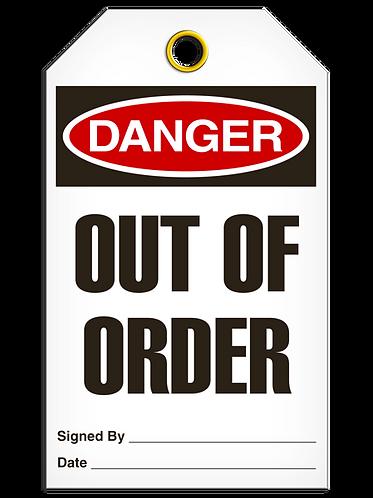 DANGER - Out Of Order